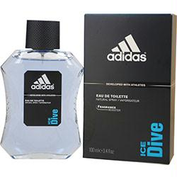 Adidas Ice Dive By Adidas Body, Hair & Face Shower Gel 13.5 Oz (developed With Athletes)
