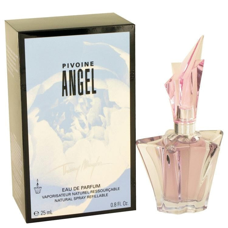 Angel Peony by Thierry Mugler Eau De Parfum Spray Refillable .8 oz - Perfume N Mor
