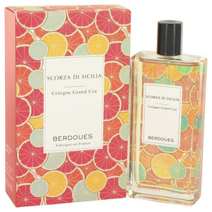 Scorza Di Sicilia by Berdoues Eau De Toilette Spray 3.68 oz