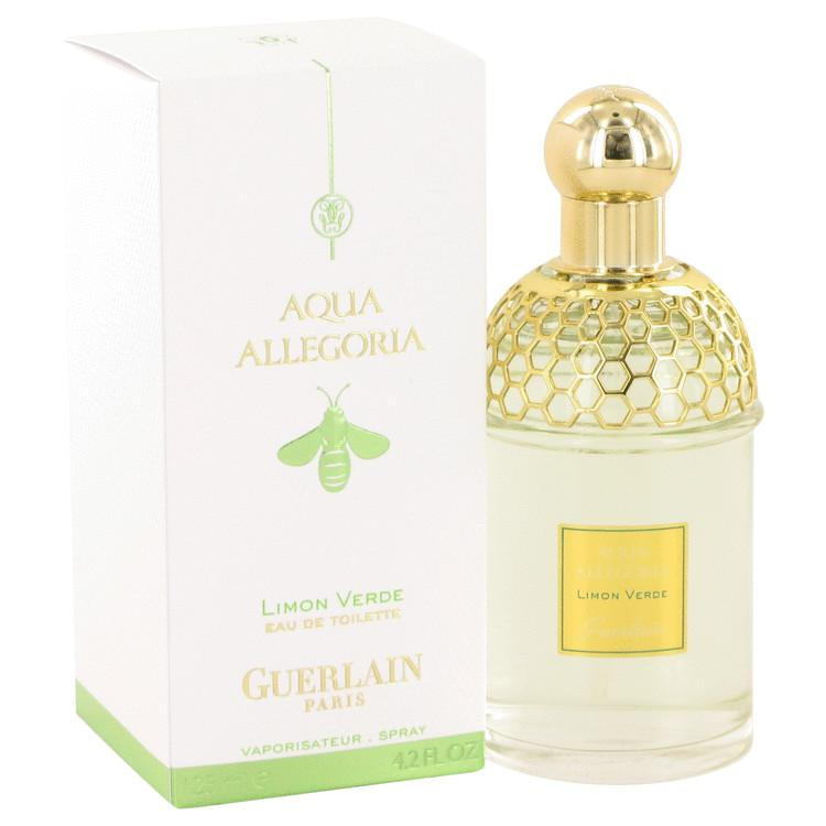 AQUA ALLEGORIA Limon Verde by Guerlain Eau De Toilette Spray 4.2 oz
