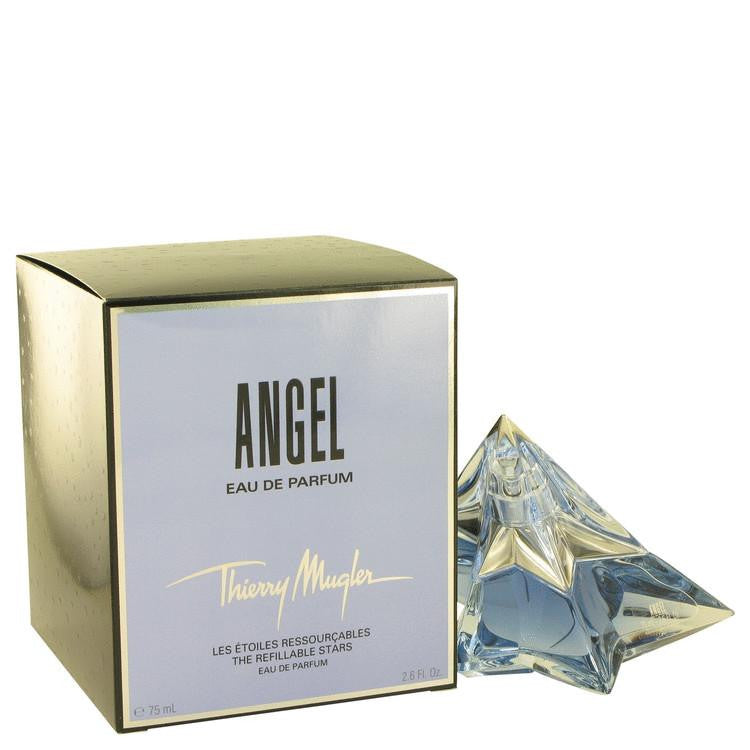ANGEL by Thierry Mugler Eau De Parfum Spray Refillable Star 2.6 oz - Perfume N Mor