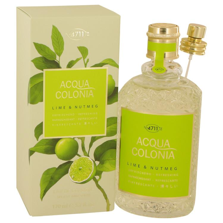 4711 Acqua Colonia Lime & Nutmeg by Maurer & Wirtz Eau De Cologne Spray 5.7 oz