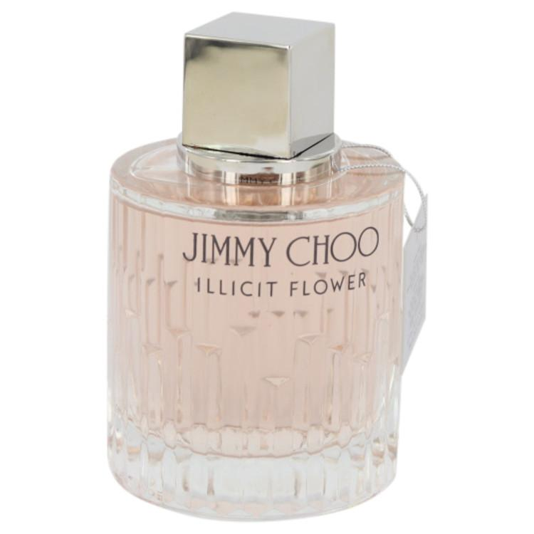 2e7ebaad5fb Jimmy Choo Illicit Flower by Jimmy Choo Eau De Toilette Spray (Tester) 3.3  oz