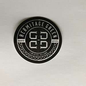 Hermitage Green Logo Sticker