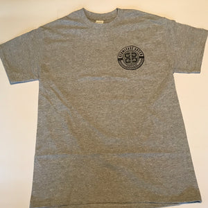 Grey Shirt with New Logo