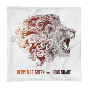 Lions Share Pillow Case