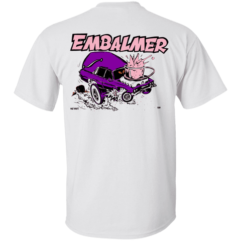 Retro Embalmer Hearse T-Shirt
