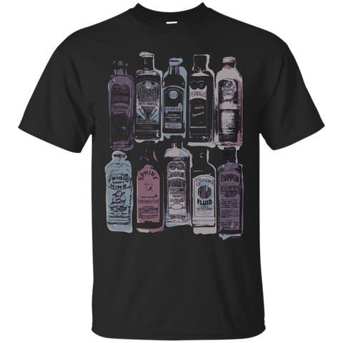 Old Fluid Bottles T-Shirt