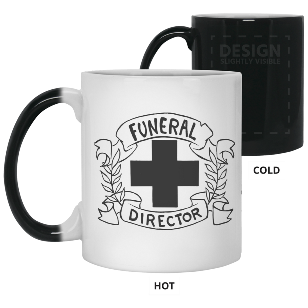 Funeral Director Color Changing Mug