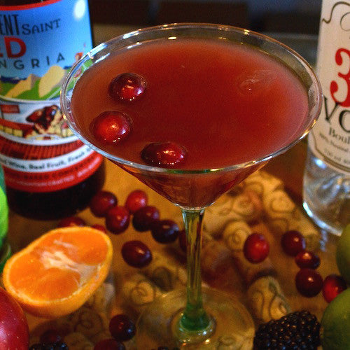 Berry Martini