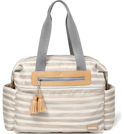 Skip Hop Riverside Diaper Bag Oyster Stripe