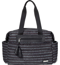 Skip Hop Riverside Diaper Bag Black Dot