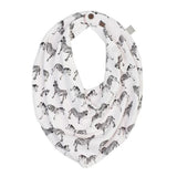 Finn and Emma Reversible Organic Bandana Bib