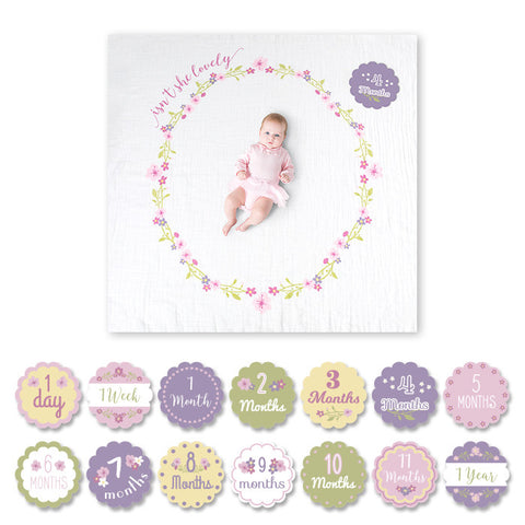 Lulujo Baby's First Year Set - Isn't She Lovely