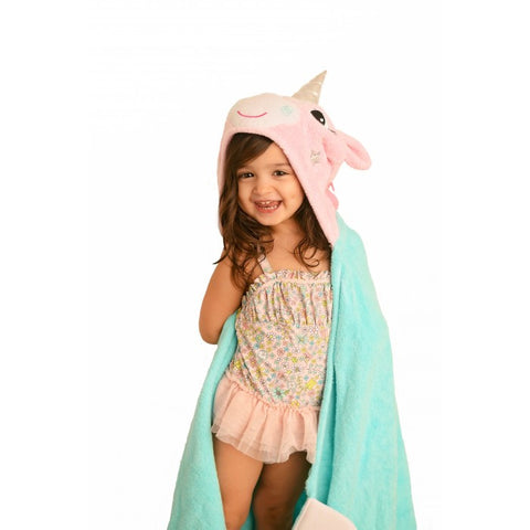 Zoocchini Allie The Unicorn Toddler Towel