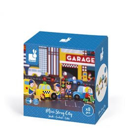 Janod Story box Garage City