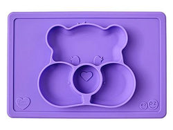Ezpz Care Bear Mat Share Bear Purple