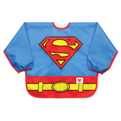 Bumkins DC Comics Costume Sleeved Bib