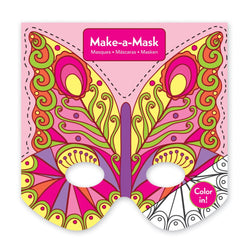 Mudpuppy Butterflies Make-A-Mask