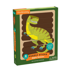 Mudpuppy Mighty Dinosaur Puzzle Sticks