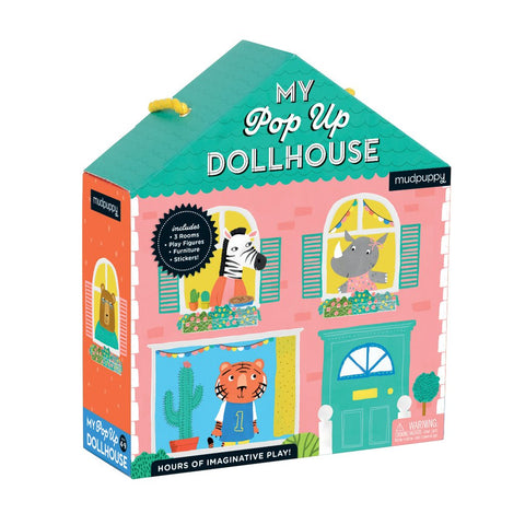 Mudpuppy My Pop Up Dollhouse