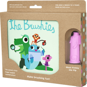 The Brushies Book and Pinkey The Pig