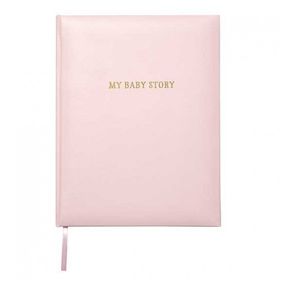 CR Gibson Pink Bonded Leather Memory Book