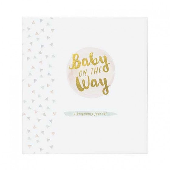 CR Gibson Baby On The Way Pregnancy Journal
