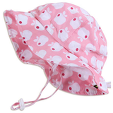 Twinklebelle Grow-With-Me Sun Hat - Pink Apple