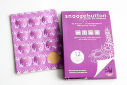 Purple Frog Snooze Button Patches - Lavender/Chamomile 12ct