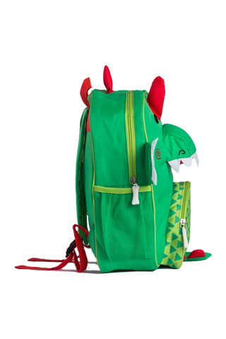 Zoocchini Kids Backpack - Devin the Dinosaur - Green