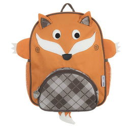 Zoocchini Kids Backpack - Finley the Fox - Orange