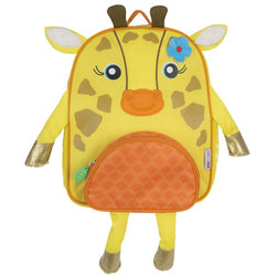 Zoocchini Kids Backpack - Jaime the Giraffe - Yellow
