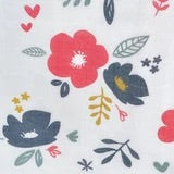 Perlimpinpin Cotton Muslin Sleep Bag 0.7 Tog - Flowers