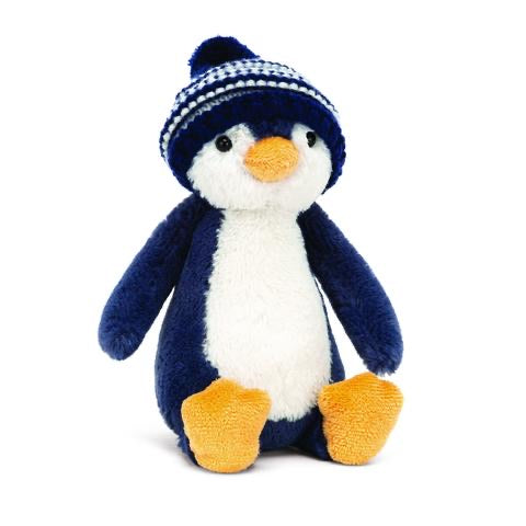 Jellycat Bobble Hat Penguin Navy