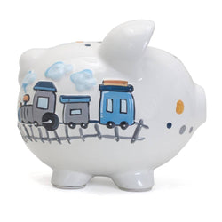 Child To Cherish Choo Choo Transportation Piggy Bank
