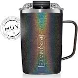 Brumate Toddy 16 oz - Glitter Charcoal
