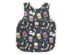 Bapron Baby Toddler Bib 6m+ Core Collection PBJ Pals