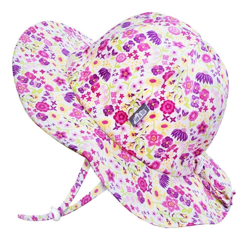 Jan and Jul Cotton Floppy Hat - Wildflower