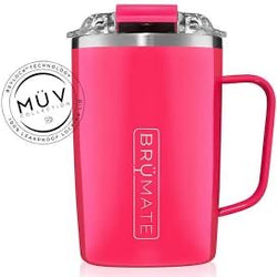 Brumate Toddy 16 oz - Neon Pink