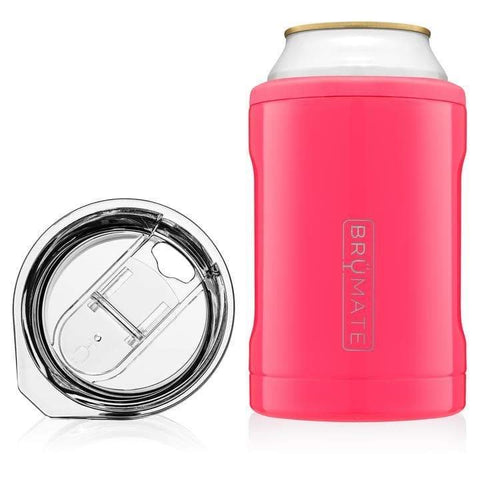 Brumate Hopsulator Duo 2-in-1 (12oz cans/tumbler) - Neon Pink