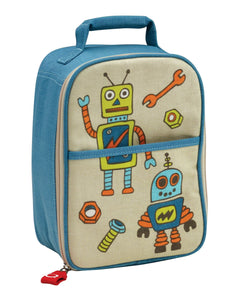 Sugarbooger Zippee Lunch Tote Retro Robot