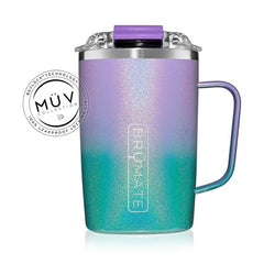 Brumate Toddy 16oz - Glitter Mermaid