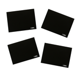 Imagination Starters Chalkboard Plain Travel Bag Placemat Set of 4