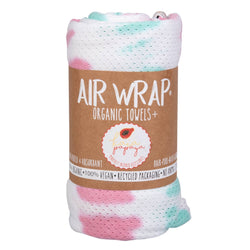 Kaia Papaya Airwrap Pink and Aqua Tie Dye