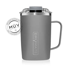 Brumate Toddy 16 oz - Matte Gray