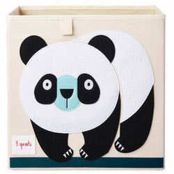 3 Sprouts Storage Box Panda