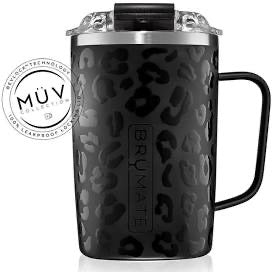 Brumate Toddy - 16oz - Onyx Leopard