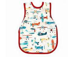 Bapron Baby Toddler Bib 6m+ Toddler Bib Retro Airplanes