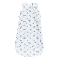 Perlimpinpin Cotton Muslin Sleep Bag Fish 0.7 Tog